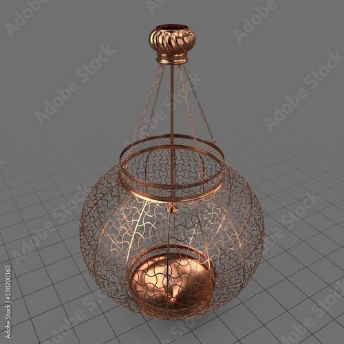 Obraz Moroccan hanging lantern - fototapety do salonu