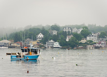 Fishing Boat In Boothbay Harbo...