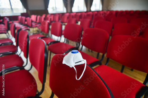 Fotomural Cancelled events background