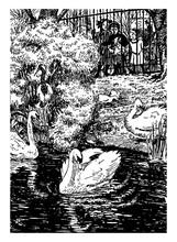 Ugly Duckling, Vintage Illustr...