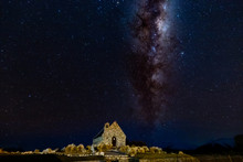 Milky Way At Church Of The Goo...