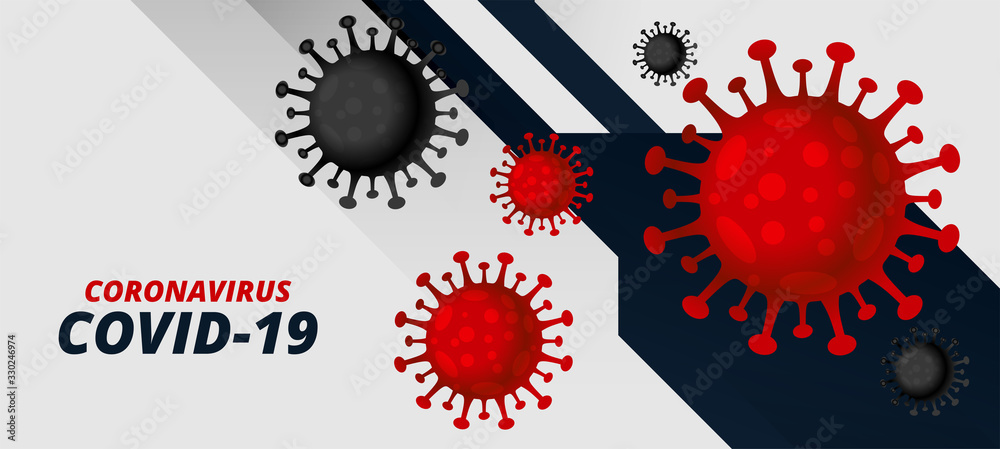 Fototapeta coronavirus covid-19 pandemic outbreak virus background concept