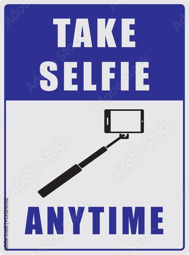 Take a selfie anytime Canvas Print