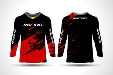 Long Sleeve T-shirt Sport Moto...