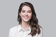 Beautiful Young Business Woman...