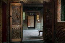 Old Door Of Church