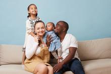 Portrait Of Happy Multiethnic ...