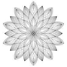 Mandala Design, Meditation Orn...