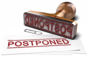 Postponed Event Announcement