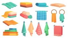Bath Towels. Cartoon Fabric To...