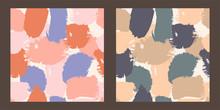 Set Of Two Seamless Pattern Wi...