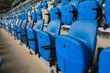 Empty chair in Empty stadium.