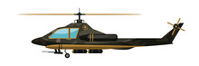 Vector Illustration Army Helic...