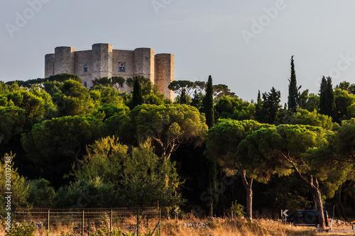 Castel del Monte in Apulia, South of Italy Wallpaper Mural