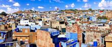 Travel And Landmarks Of India. Blue City Of Rajastan - Jodhpur