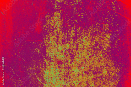 Fototapety, obrazy: Old dirty weathered grunge wall background texture as abstract background