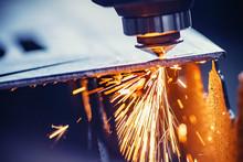 CNC Gas Cutting Metal Sheet, S...