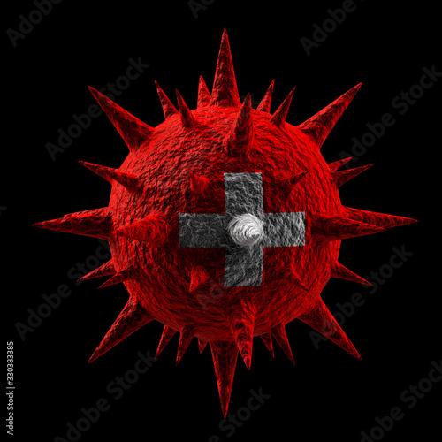 3D Virus #330383385