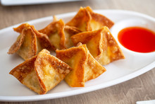 Crispy Cream Cheese Wontons.