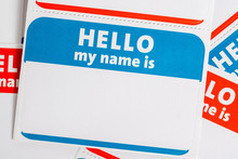 Hello My Name Is Name Badge Pa...