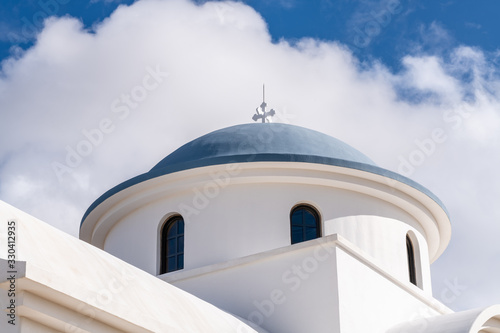 Saint Elijah Chapel at Saint Anthony Greek Orthodox Monastery in Florence, Arizona Canvas Print