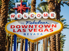 Welcome To Fabulous Las Vegas Sign, Las Vegas, Nevada