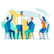 Team of Creative Office Workers, Brainstorming