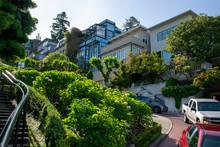 Lombard Street In San Francis...