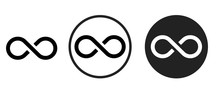 Infinite Icon . Web Icon Set ....