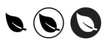 Leaf Icon . Web Icon Set .vect...