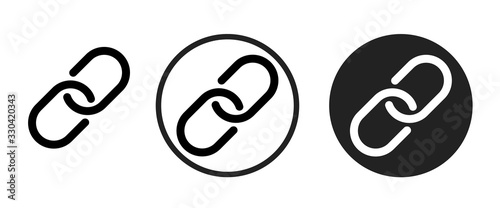 link icon . web icon set .vector illustration