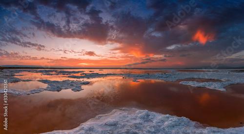 Fototapety, obrazy: San Francisco Bay Sunset