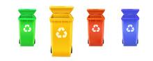 Realistic Multi Colored Trash ...