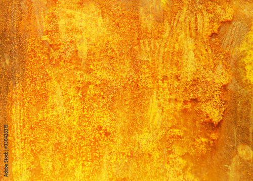 gold yellow red metal plates - luxurious festive vintage rustic background - top Tapéta, Fotótapéta