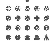 Sport Balls UI Pixel Perfect W...