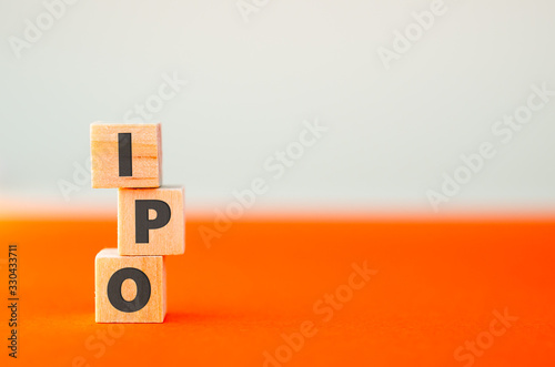 Alphabet letter on wooden cube blocks Wallpaper Mural