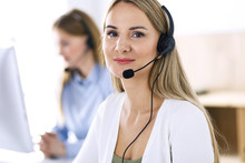 Portrait Of Call Center Operat...