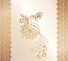 Vector Illustration Of A Golde...