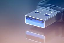 USB Flash Drive Closeup. Perso...