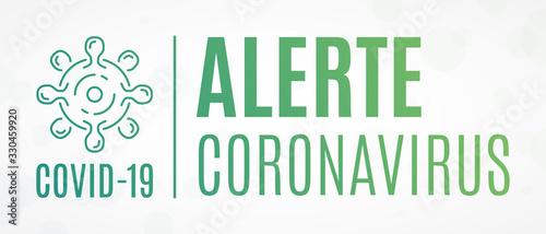 Photo Alerte Coronavirus COVID-19