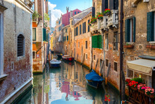 Venice And Old Houses