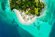 Aerial Drone View Of Beautiful...