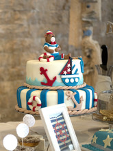Baby Ooy Birthday Cake ,sailin...