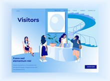 Visitors Communicate With Youn...