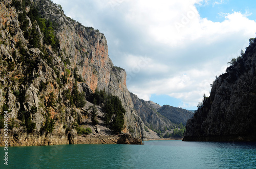 Green Canyon in the summer Fototapet