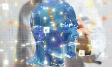 Human Head Cyber Mind Digital ...