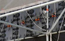 Backside Of Digital LED Panels