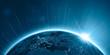 Erde – Nachts über Eurasien, Signale