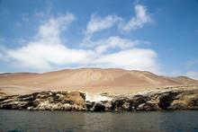 Candelabra Geoglyph In Paracas...