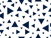 Triangles Seamless Background,...